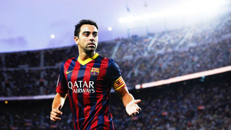 Xavi Hernandez di Barcelona