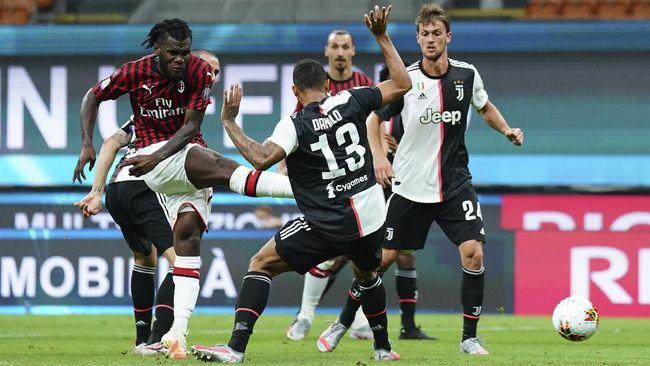 laga AC Milan vs Juventus