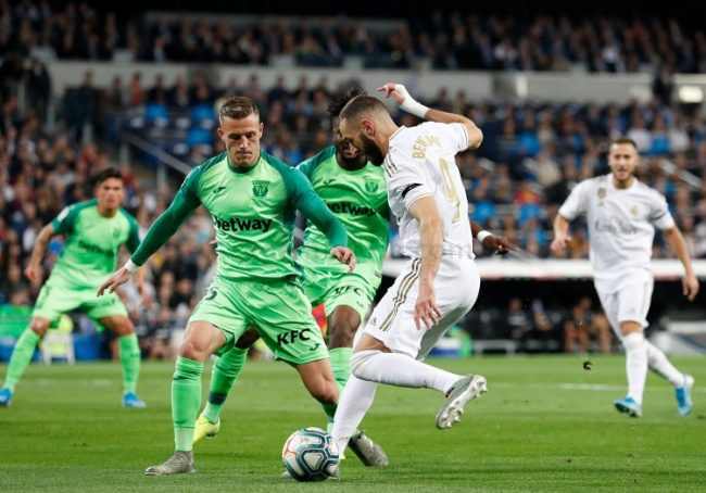 laga real madrid vs leganes