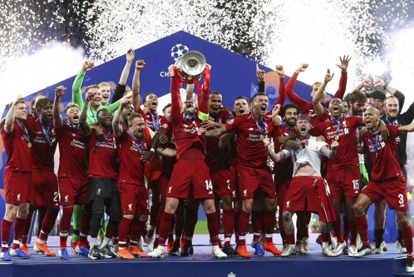 liverpool jadi juara Liga Inggris 2019-2020