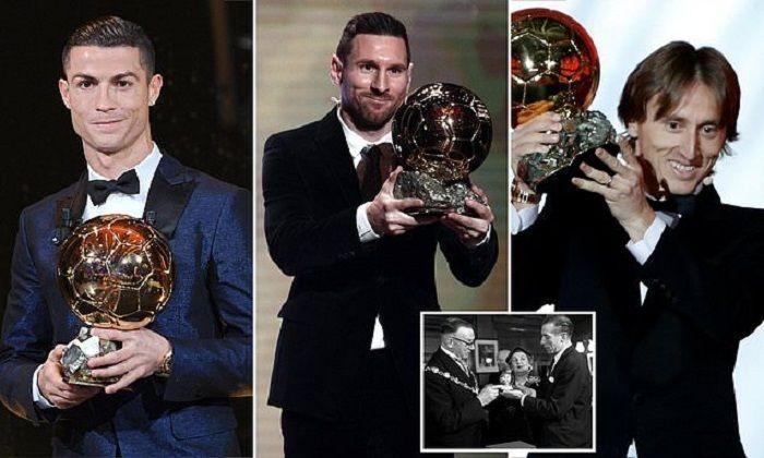 para pemenang Ballon d'Or