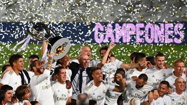 juara Liga Spanyol 2019-2020