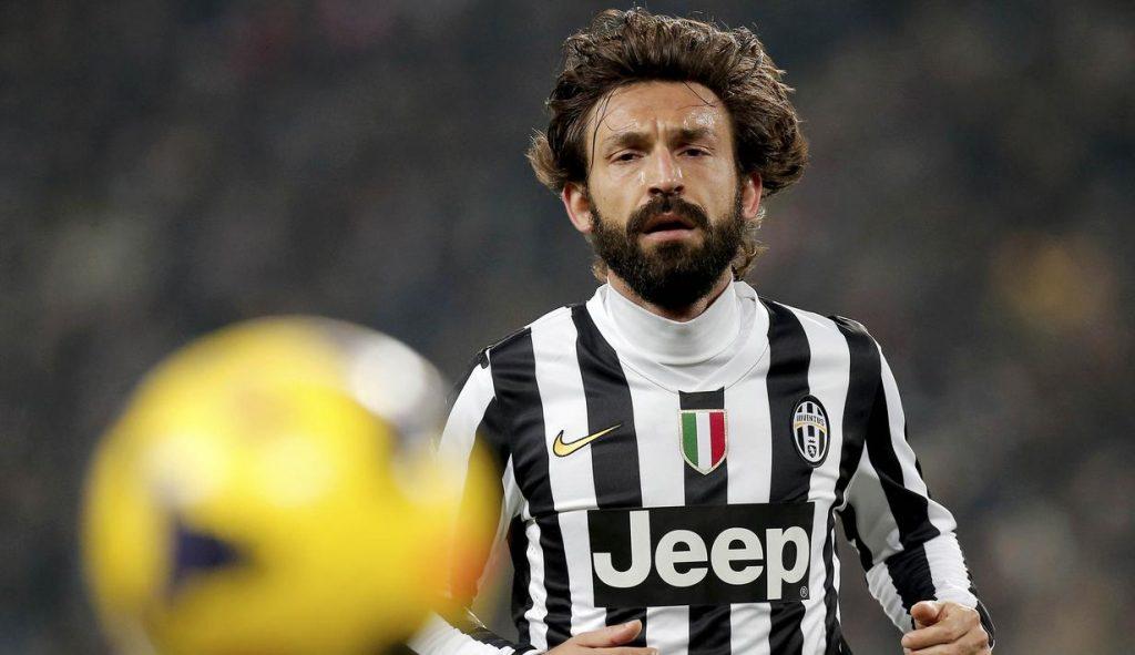 Andrea Pirlo jadi pemain Juventus