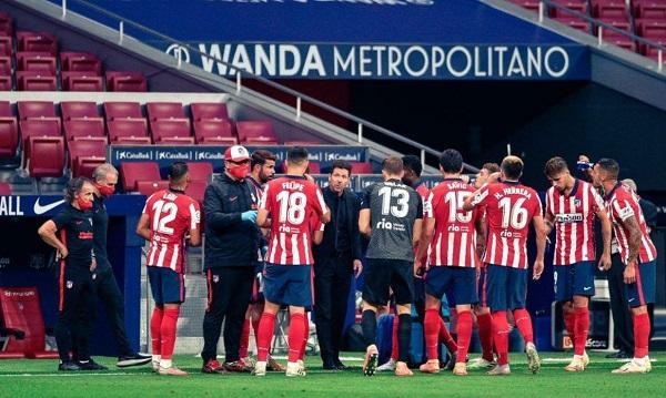 Atletico Tes Positif Virus Corona Jelang Liga Champions