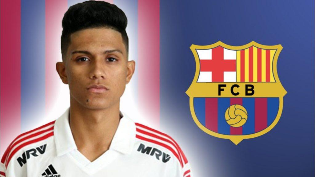 Gustavo Maia, Pemain baru Barcelona