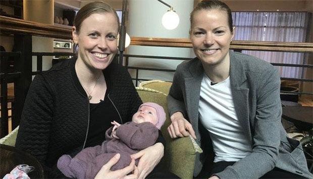Kamilla Rytter dan Christinna Pedersen menikah