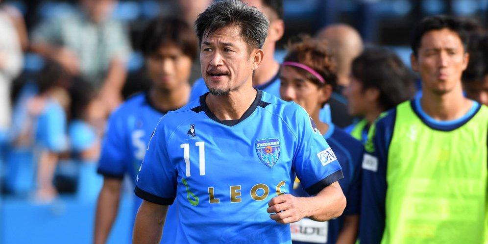 Kazuyoshi Miura, pemain tertua di dunia
