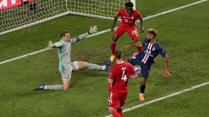 Manuel Neuer di laga PSG vs MUnchen