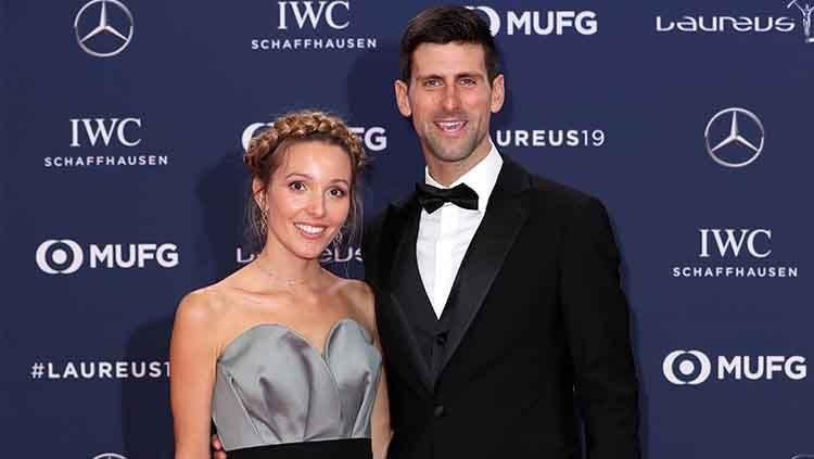 Novak Djokovic dan istri
