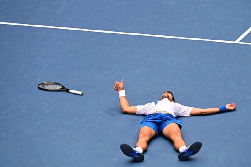 Novak Djokovic kelelahan