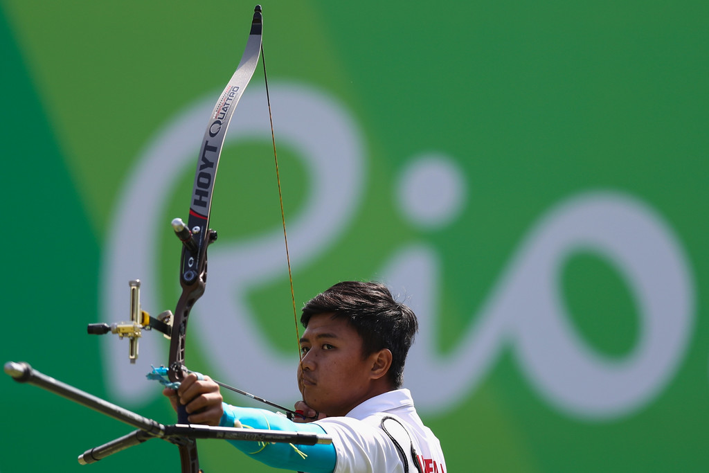 Riau Ega Agatha, atlet panah