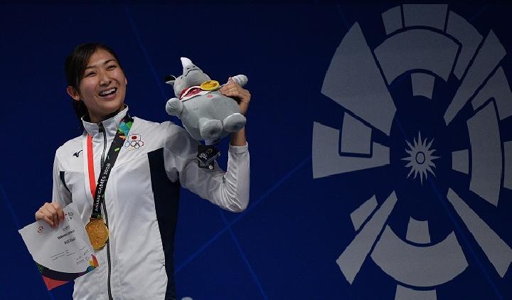 Rikako Ikee, perenang terbaik