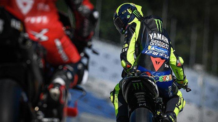 valentino rossi di MotoGP Styria 2020