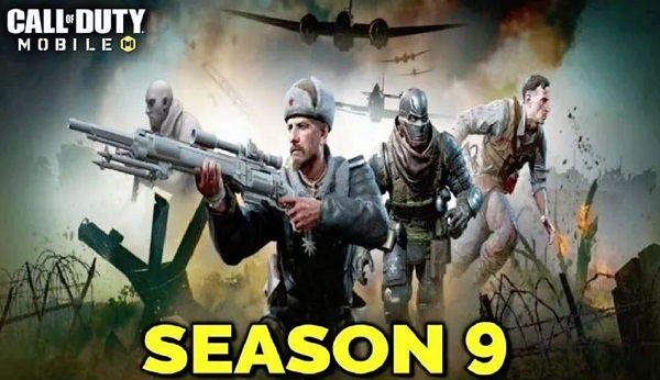 Test Server Call of Duty Mobile Season 9