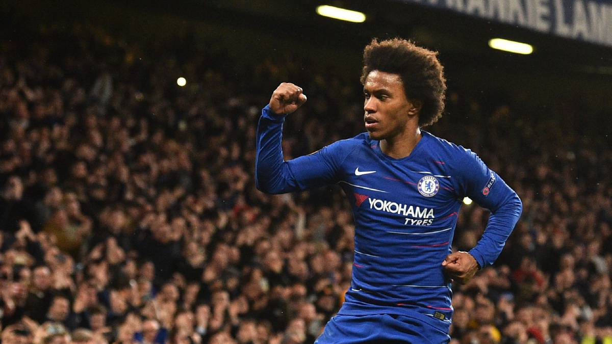 Willian pindah ke Arsenal