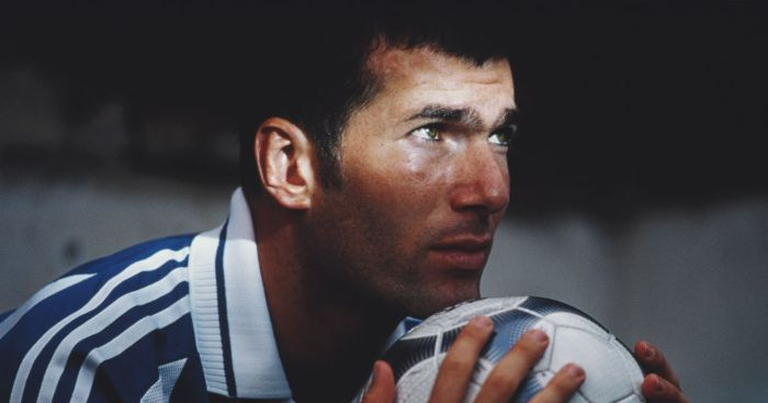 Zinedine Zidane saat jadi pemain