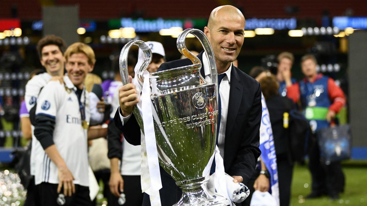 catatan menarik Zinedine Zidane
