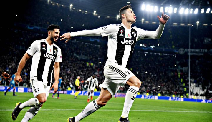 catatan rekor Cristiano Ronaldo