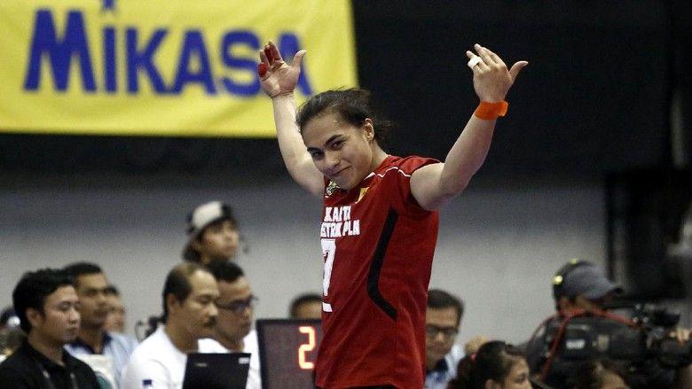 Aprilia Manganang di timnas voli Indonesia