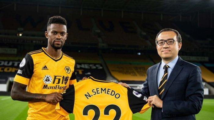 Nelson Semedo pindah ke Wolverhampton