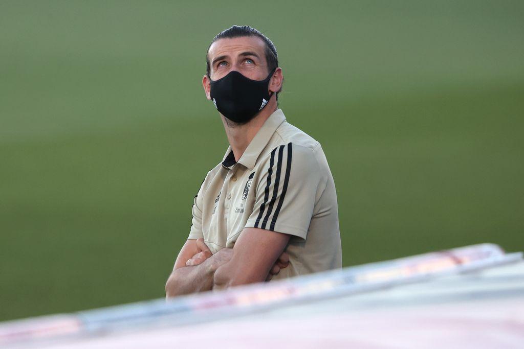 gareth bale di Real Madrid Vs Getafe