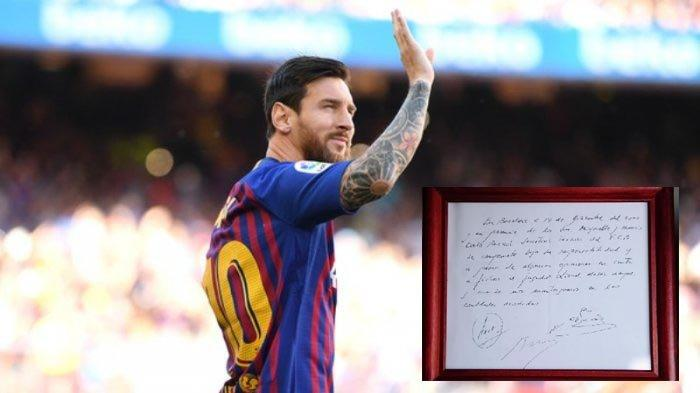 kontrak lengkap Lionel Messi