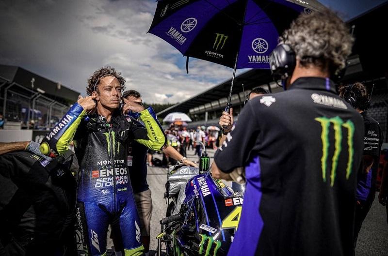 valentino Rossi di MotoGP San Marino 2020