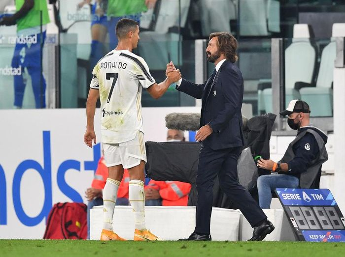 Andrea Pirlo dan Ronaldo