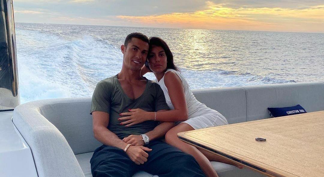 Cristiano Ronaldo dan kekasih