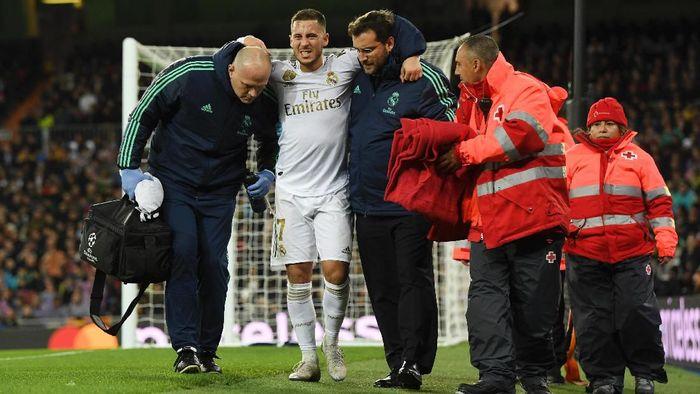 Eden Hazard cedera lagi