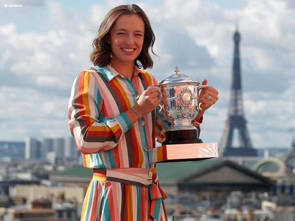 Iga Swiatek raih juara French Open 2020
