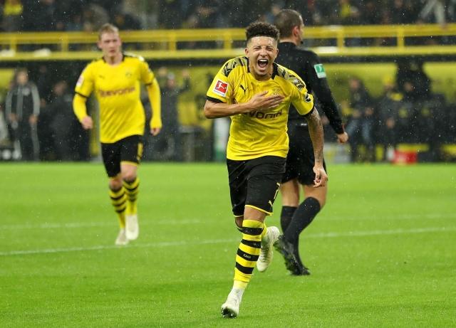 Jadon Sancho, pemain terbaik di Borussia