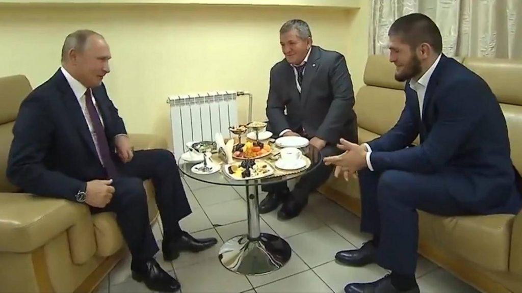 Khabib Nurmagomedov dan Vladimir Putin