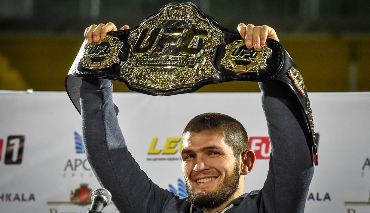 Khabib Nurmagomedov tinggalkan UFC