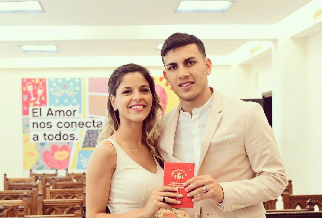 Leandro Paredes dan Camila Galante