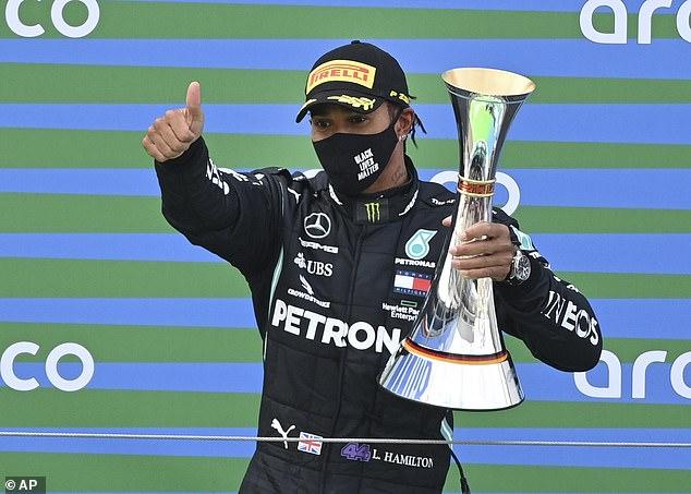 Lewis Hamilton juara GP Eifel 2020