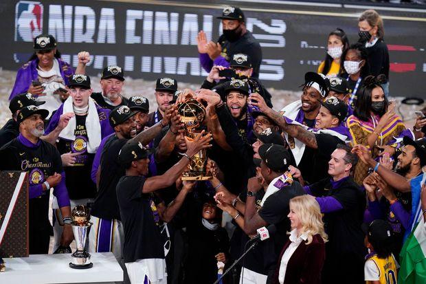 Los Angeles Lakers raih gelar juara NBA