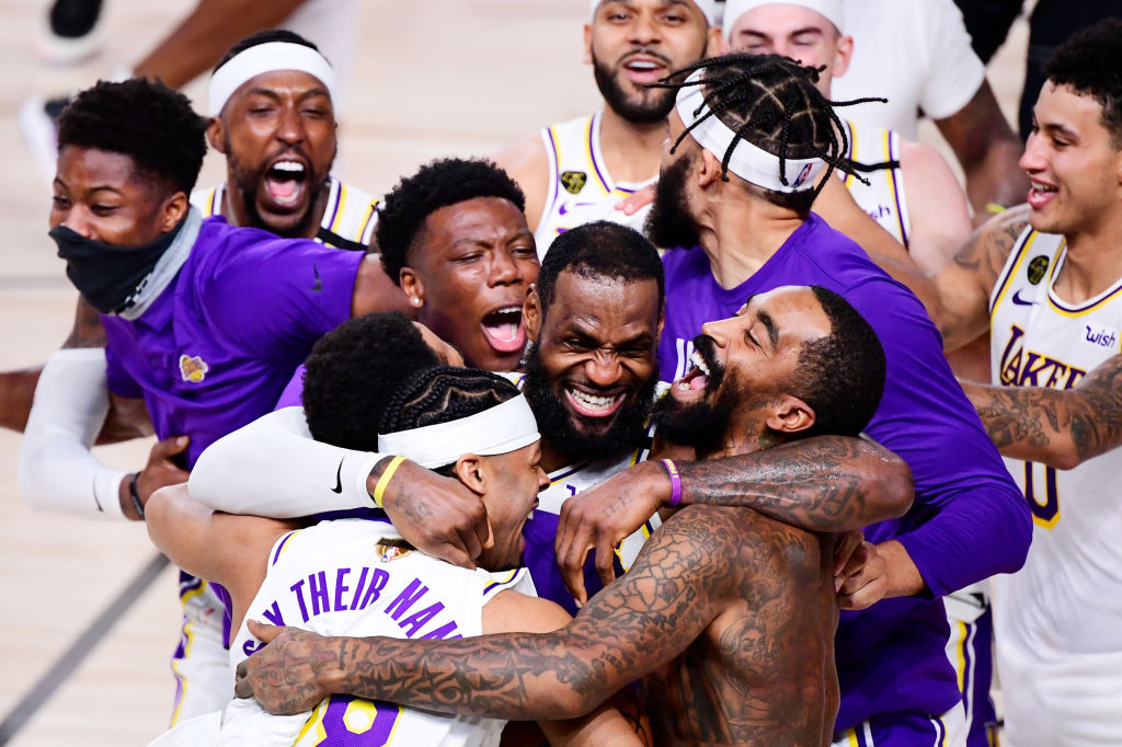 Los Angeles Lakers raih gelar juara NBA