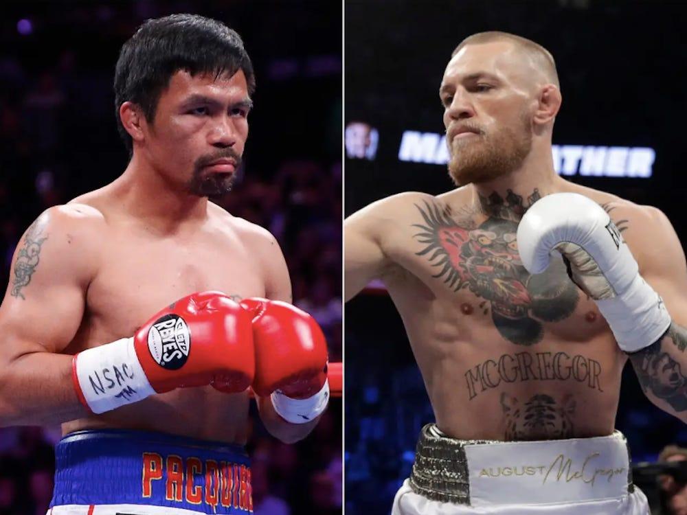 Manny Pacquiao vs McGroger