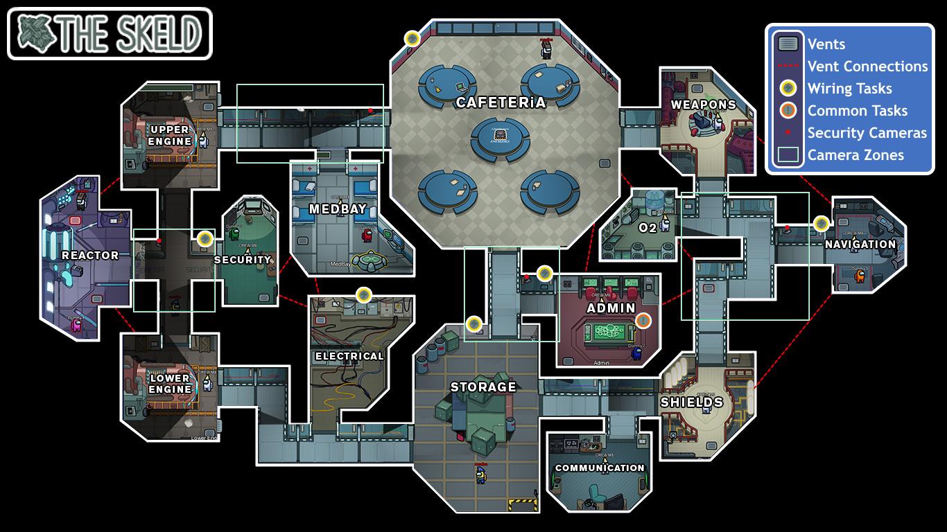 Map The Skeld