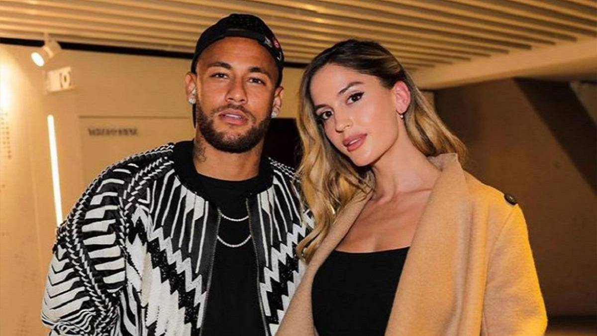 Natalia Barulich dan Neymar