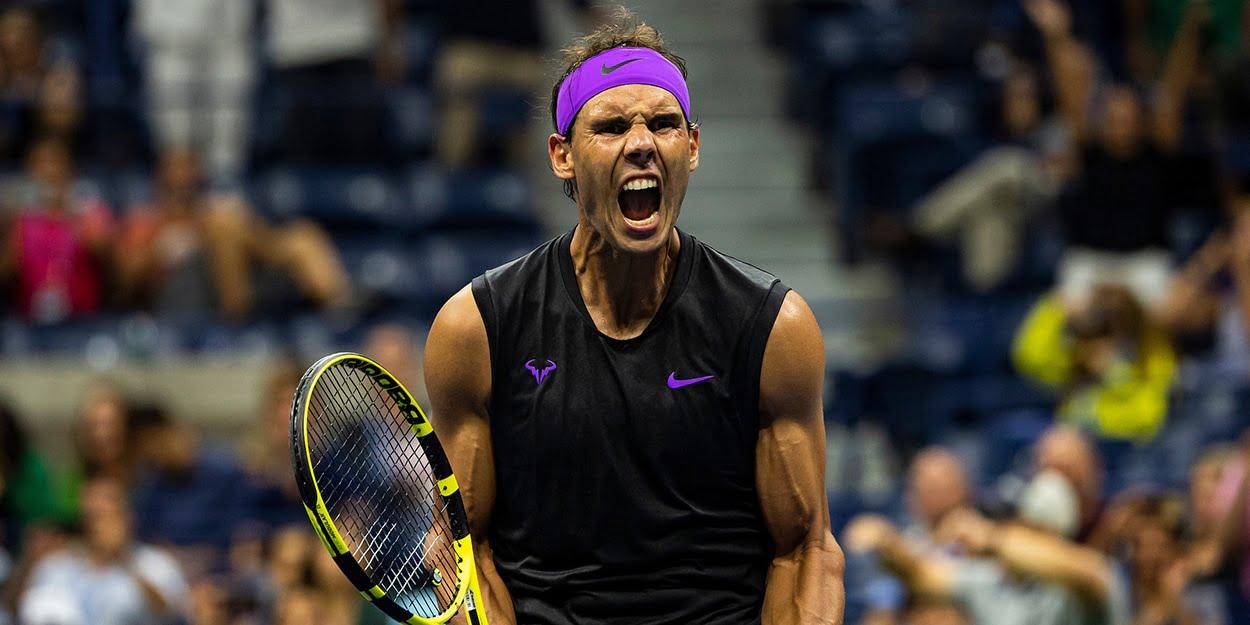 Rafael Nadal di prancis open 2020
