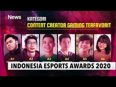 nominasi Indonesian Esports Awards 2020