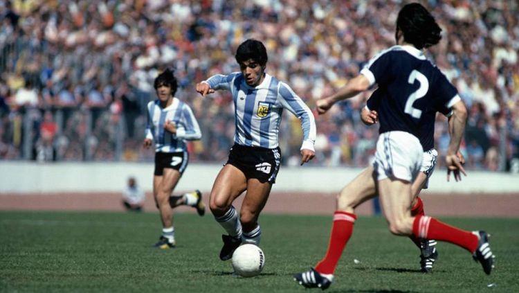Diego Maradona di piala dunia