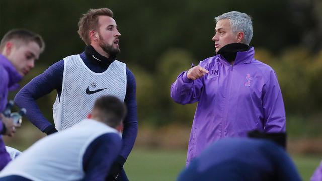 Harry Kane dan Jose Mourinho