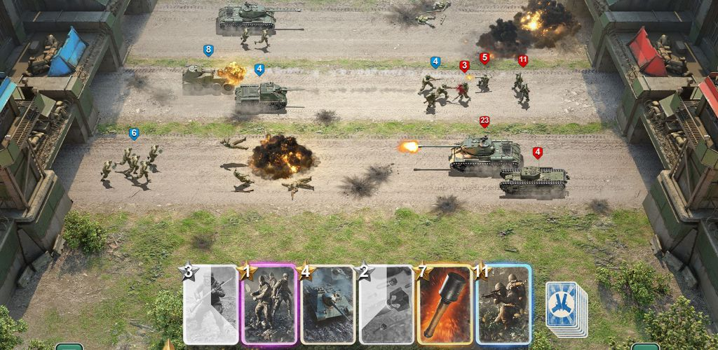 game mobile auto-battler