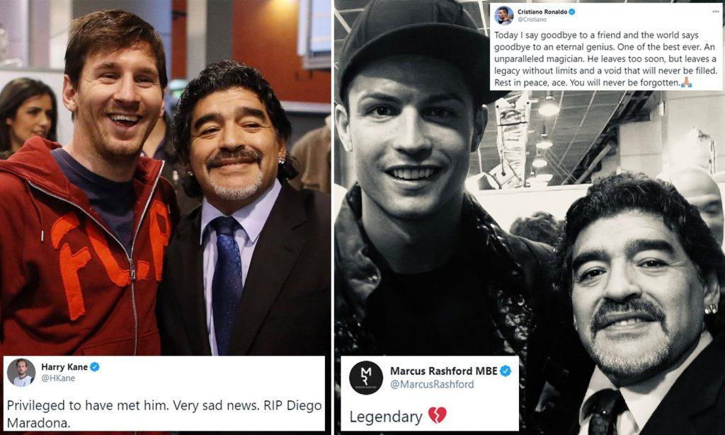 Diego Maradona dan Ronaldo