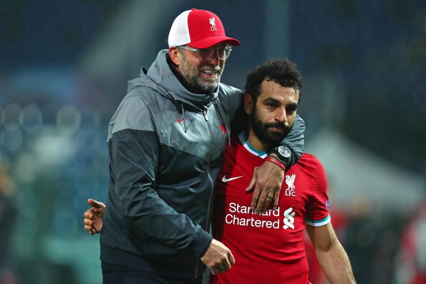 Mohamed Salah dan Juergen Klopp