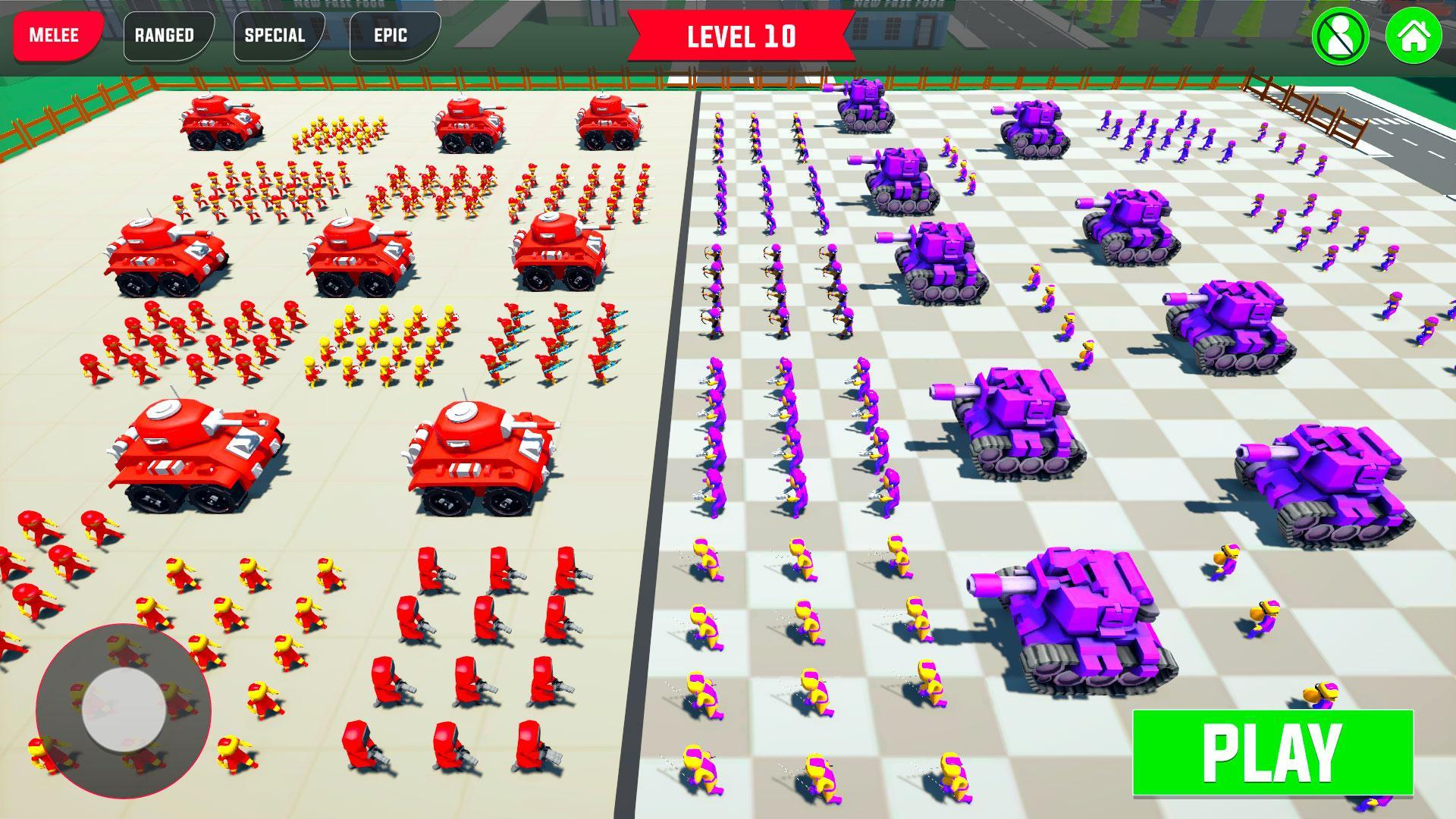 Ultimate Battle Games, Epic War Simulator