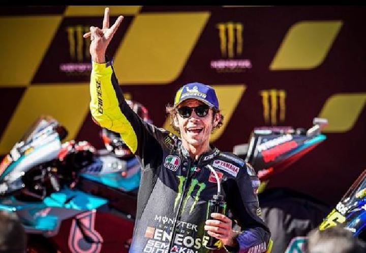 Valentino Rossi, pembalap terbaik